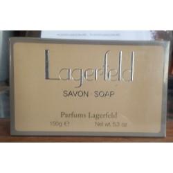 LAGERFELD PASTILLA JABÓN 150gr